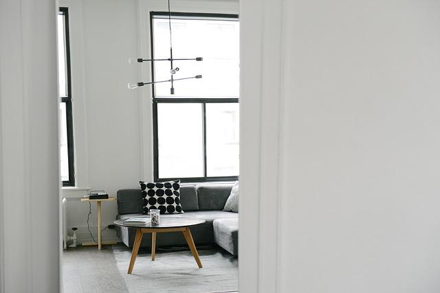 白を基調とした部屋